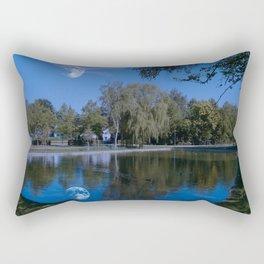 Castle lake Rectangular Pillow
