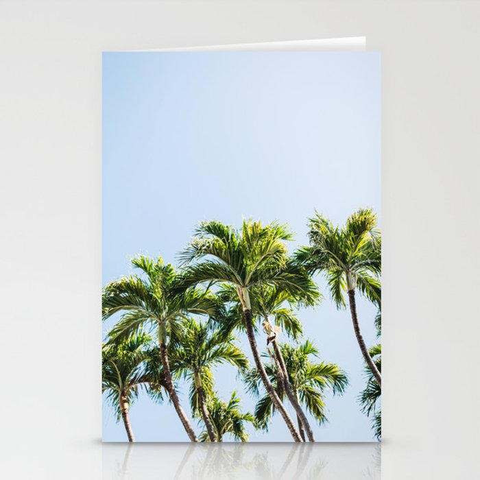 palm trees stationery cards by newburydesigns society6