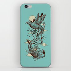 Escape from Reality iPhone Skin