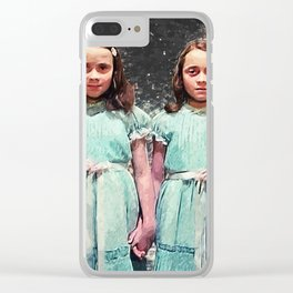 Come Play With Us Clear iPhone Case