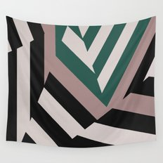 ASDIC/SONAR Dazzle Camouflage Graphic Design Wall Tapestry