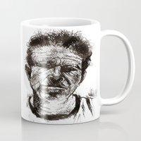tom waits Mugs featuring Tom Waits Bad As Me  by b_ethany