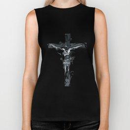 Crucifix Biker Tank