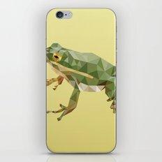 Geometric Frog iPhone & iPod Skin