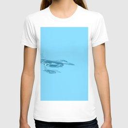 jet military T-shirt