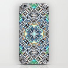 Geometric Metallic Pattern iPhone & iPod Skin