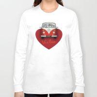 van Long Sleeve T-shirts featuring Van Love by RubyRed