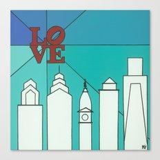LOVE shine Canvas Print
