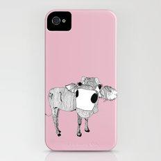 Cowface iPhone (4, 4s) Slim Case