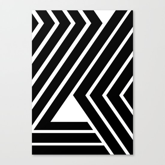 WILD STRIPES Canvas Print