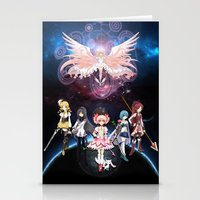 madoka magica Stationery Cards featuring Madoka Magica by Yiji