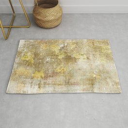 Rusty gold pattern Rug