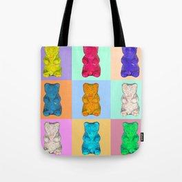 gummybears pop Tote Bag