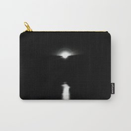 Sunrise in darkness reflecting on water Carry-All Pouch