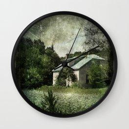 The Cloverfield House Wall Clock