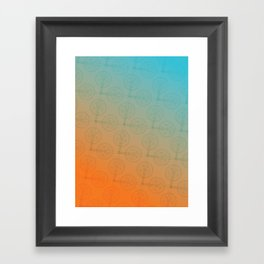 Crank (Gradient) Framed Art Print