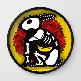 NOT SO DAY OF THE DEAD Wall Clock