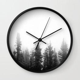 Forest Minimalist Wall Clock