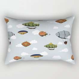 Blimps, Zeppelins, and Dirigibles Rectangular Pillow