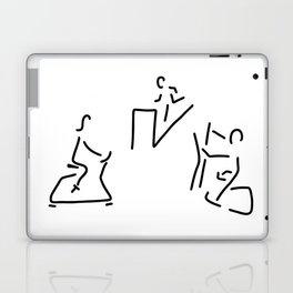 fitness hometrainer crosstrainer sport Laptop & iPad Skin