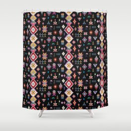 KILIM NO. 5 IN INK Shower Curtain