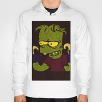 simpson Hoodies featuring Bart Simpson by Jide