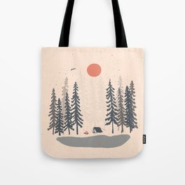 Feeling Small in the Morning... Tote Bag