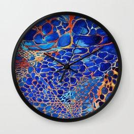 A Blue Dream Wall Clock