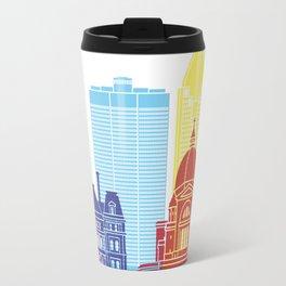 Montreal V2 skyline pop Travel Mug