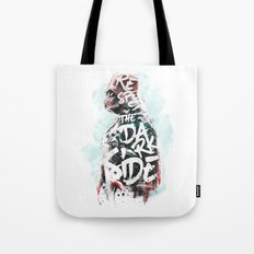 Respect the Dark Side Vader Tote Bag