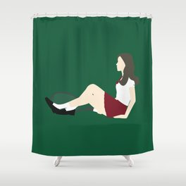 where is my ball? Shower Curtain