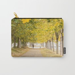 Walking under the trees in Autumn I Carry-All Pouch