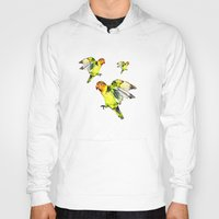 parrot Hoodies featuring Parrot by cmphotography