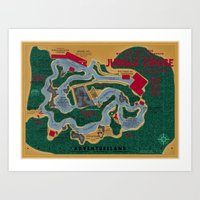 The World Famous Jungle Cruise Art Print