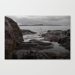 rock & wather Canvas Print