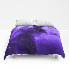 Eagle Nebula Ultraviolet Comforters