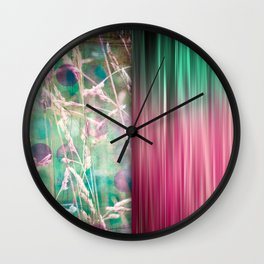 The Sound of Light and Color - Herbage Wall Clock