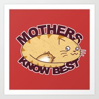 Mothers know Best Art Print