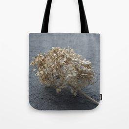 Blossoms on Blacktop Tote Bag
