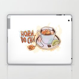 Hora do chá (Tea Time) Laptop & iPad Skin