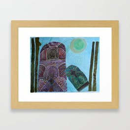 A Miracle of History Framed Art Print