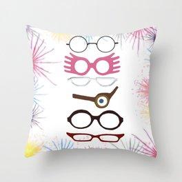 Wizarding Sight Throw Pillow