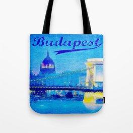 Budapest, light blue Tote Bag