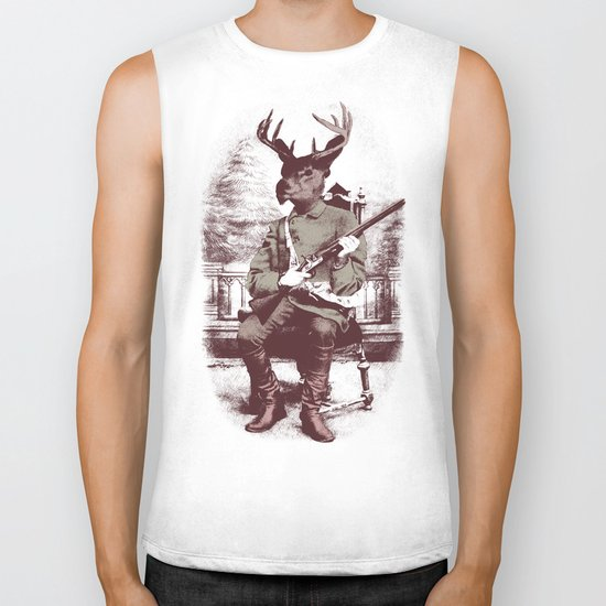 The Deer Hunter  Biker Tank