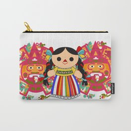 Maria 2 (Mexican Doll) Carry-All Pouch