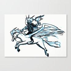Aerial punk   Canvas Print