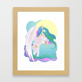 Sunlight Princess Framed Art Print