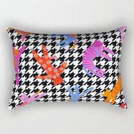 Downward facing Cat-you've got the moves! Rectangular Pillow