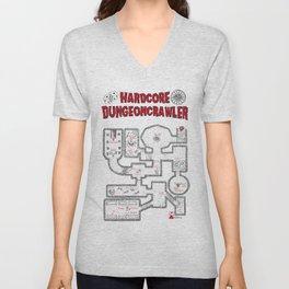 Hardcore Dungeoncrawler Unisex V-Neck