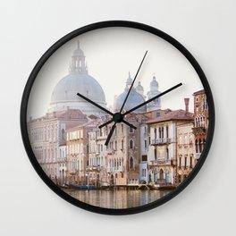Grand Canal - Venice Italy Travel Photography Wall Clock